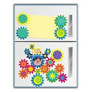 FridgiGears Moving Magnets Picture Frame