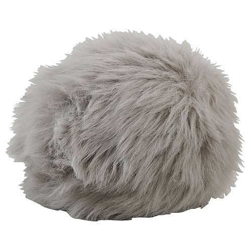 Star Trek TOS Gray Tribble Replica Plush with Sound
