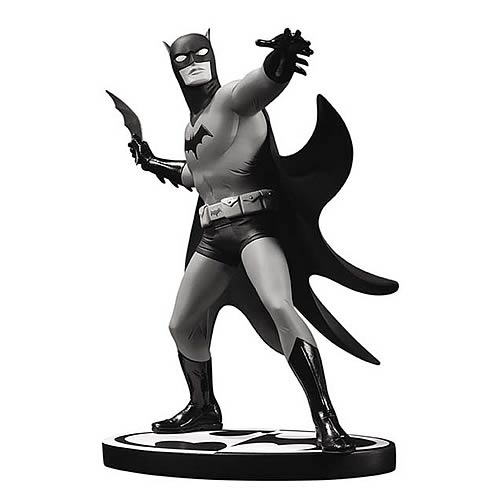 Batman Black and White Michael Allred Statue