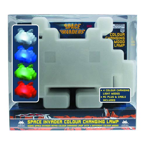 Space Invaders Color Changing Lamp