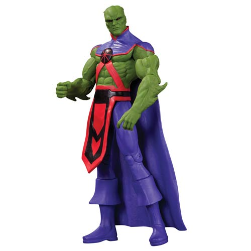 Justice League New 52 Martian Manhunter Action Figure Dc