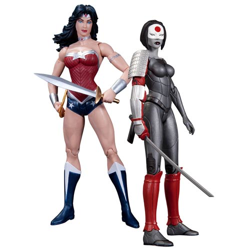 New 52 Wonder Woman and Katana 2-Pack Action Figures
