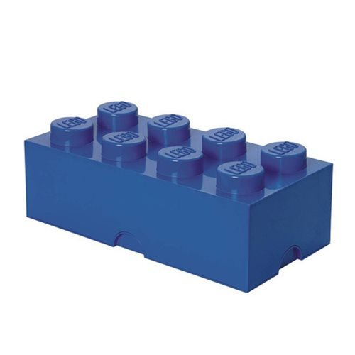 LEGO Blue Brick Storage Container