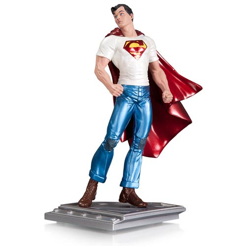 Superman The Man of Steel by Rags Morales Statue
