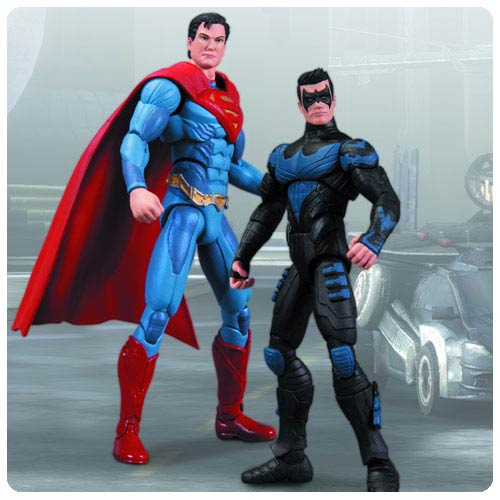 Injustice Gods Among Us Nightwing vs. Superman Figure 2-Pack