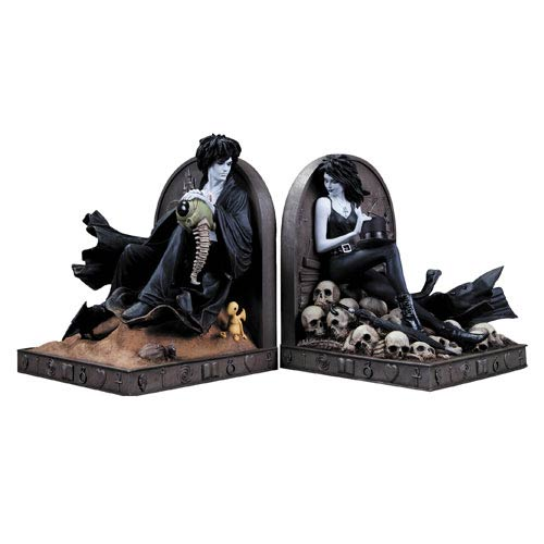 Vertigo Sandman and Death Bookends Statue