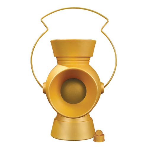 Yellow Lantern 1:1 Scale Power Battery and Ring Prop Replica