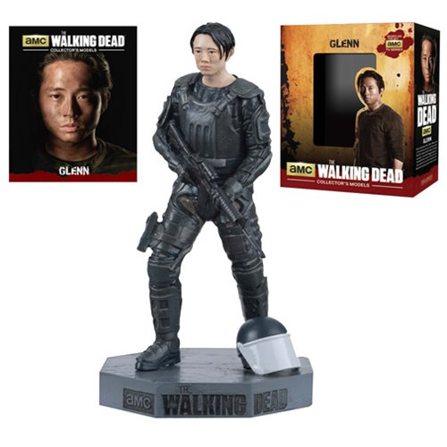 The Walking Dead Glenn Figure with Collector Magazine #7