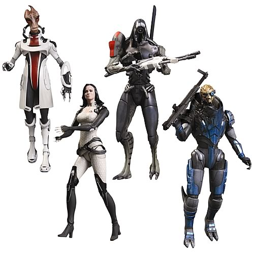 Mass Effect 3 Series 2 Action Figure Set