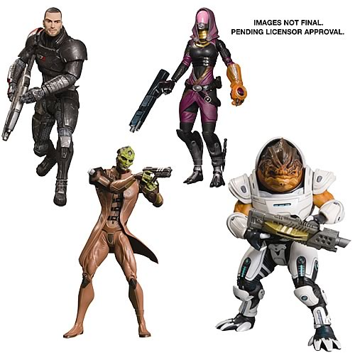 Mass Effect 3 Series 1 Action Figure Set