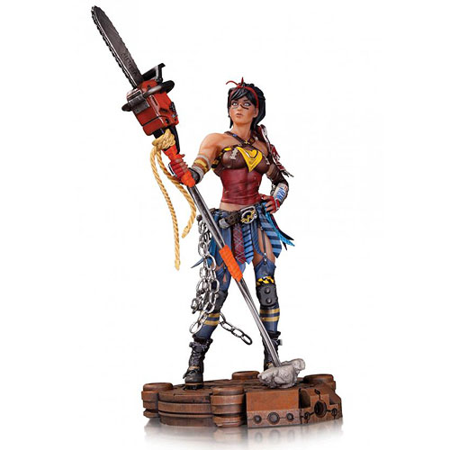Infinite Crisis Atomic Wonder Woman Statue
