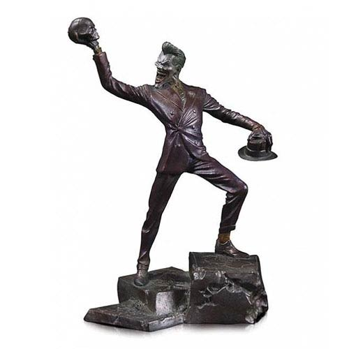 Batman Joker Patina Mini Statue