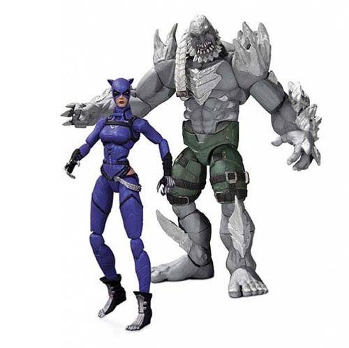 Injustice Catwoman vs. Doomsday 3 3/4-Inch Figure 2-Pack
