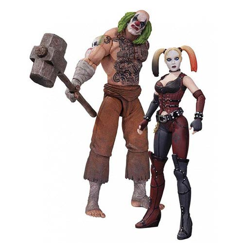 Batman Arkham City Mr. Hammer & Harley Quinn Figure 2-Pack