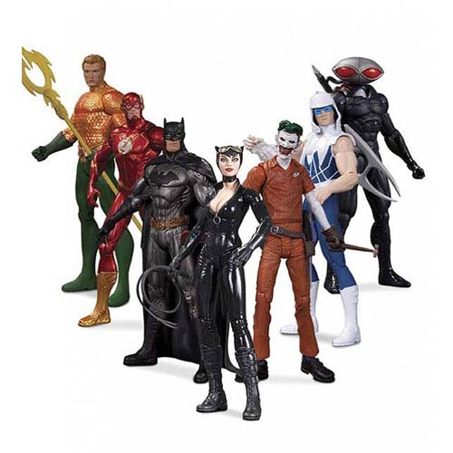 DC Comics New 52 Heroes vs. Villains Figure 7-Pack