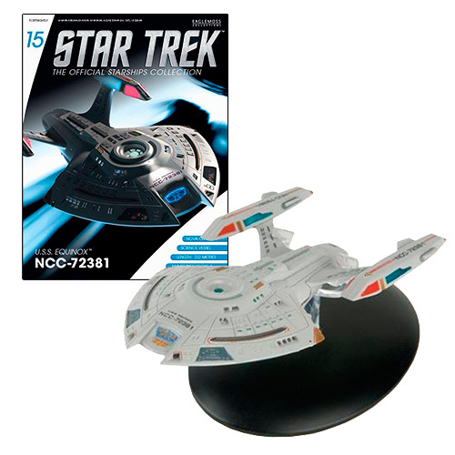 Star Trek Starships U.S.S. Equinox Vehicle with Magazine