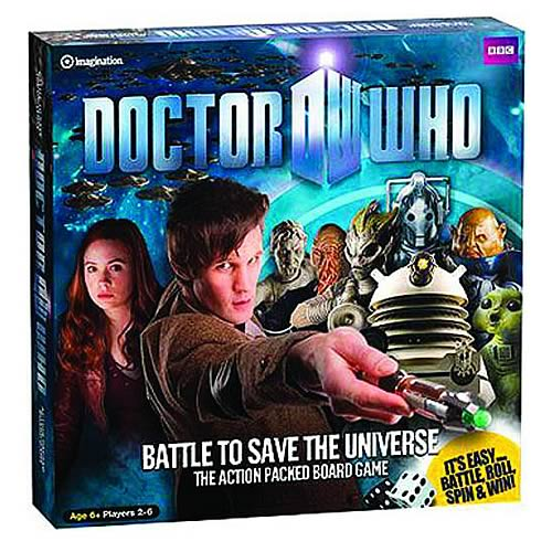 Doctor Who Battle to Save the Universe Action Board Game