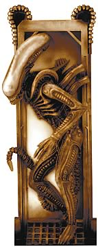 Alien Relief Sculpture