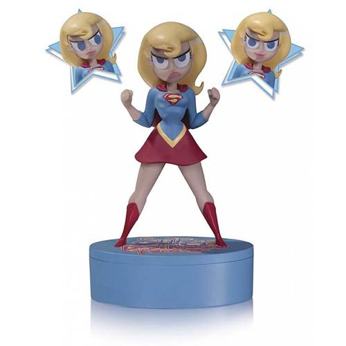 Super Best Friends Forever Supergirl Figure and Storage Box