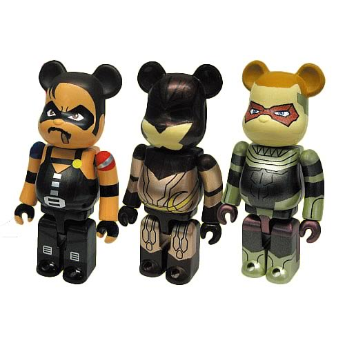 Watchmen Bearbrick Mini Figures Set A