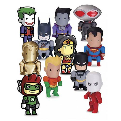 Scribblenauts Unmasked Mini-Figures Series 1 4-Pack