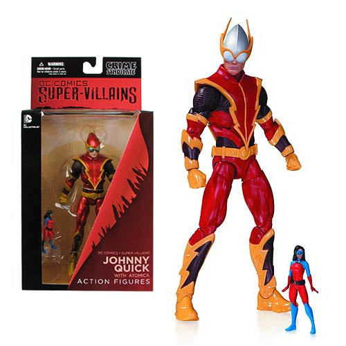DC Comics Super Villains Johnny Quick with Atomica Figure
