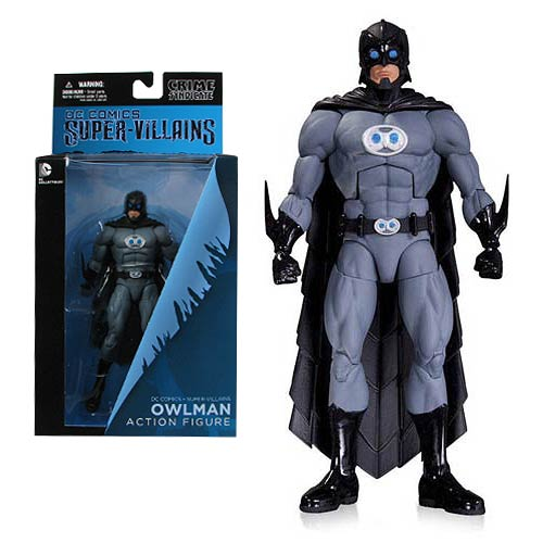 DC Comics Super Villains New 52 Owlman Action Figure
