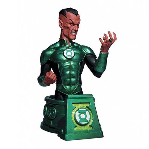 Green Lantern Blackest Night Sinestro Bust