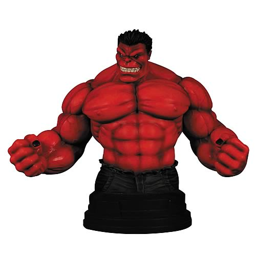 Red Hulk Previews Exclusive Mini-Bust