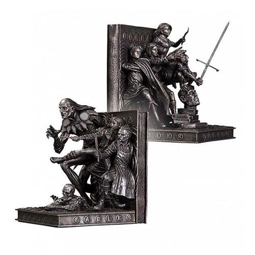 Fables Bookends Statues Dc Collectibles Fables