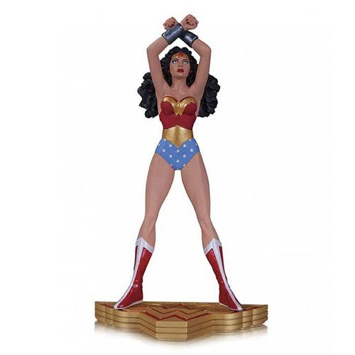 Wonder Woman Art of War by George Perez Statue