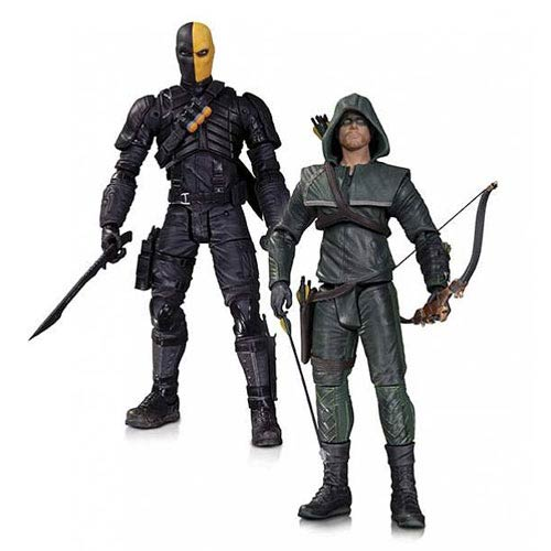 Arrow Oliver Queen and Deathstroke Action Figure 2-Pack