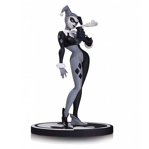 Batman Black and White Harley Quinn Statue