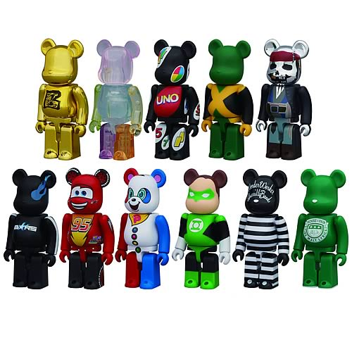 Kubrick Bearbrick Series 22 Mini-Figure Random 4-Pack