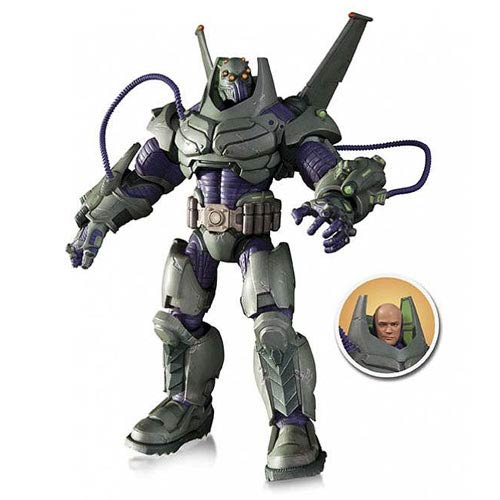 DC Comics Villains Armored Suit Lex Luthor Deluxe Figure