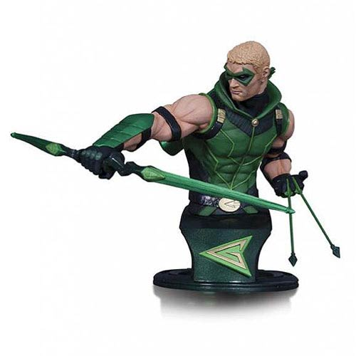 DC Comics Super Heroes Jim Lee Green Arrow Bust