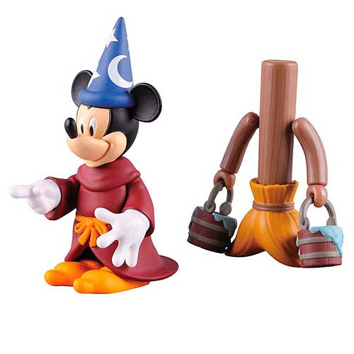 Disney Fantasia Mickey and Broom Kubrick 2-Pack