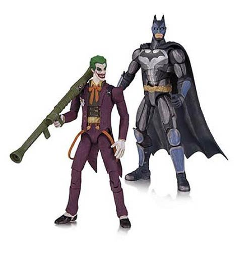 Injustice Batman and Joker 3 3/4-Inch Action Figure 2-Pack