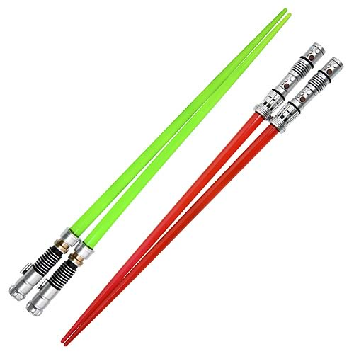 Star Wars Darth Maul and Luke Lightsaber Chopsticks Set