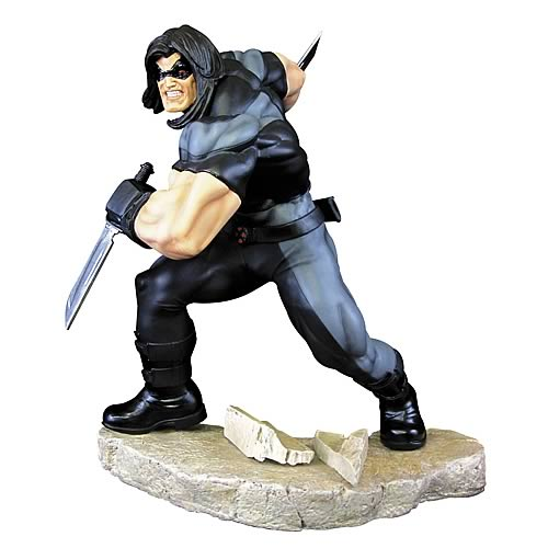 X-Force Warpath Fine Art Statue