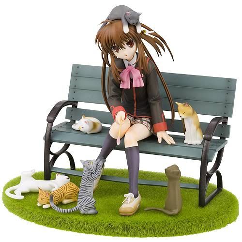 Little Busters Rin Natsume Cats Version Statue