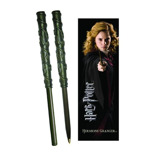 Harry Potter Hermione Granger Wand Pen and Bookmark