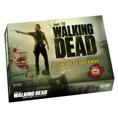 The Walking Dead Best Defense Board Game