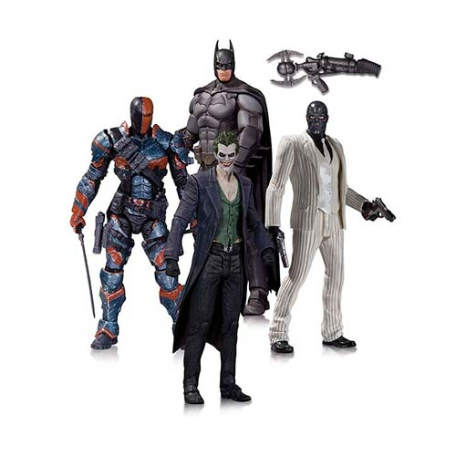 Batman Arkham Origins Action Figure 4-Pack