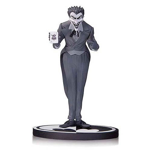 Batman Black and White Joker by Dick Sprang Statue