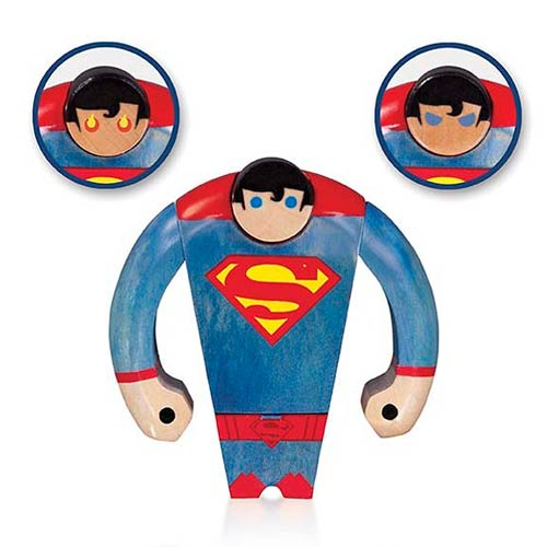 Superman Wooden Figure