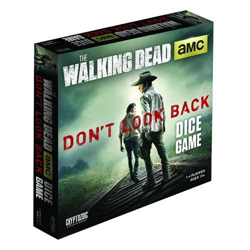 The Walking Dead TV Don't Look Back Dice Game