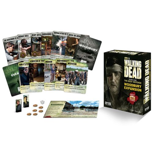 The Walking Dead Best Defense Woodbury Expansion Board Game