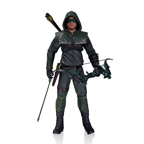 Arrow TV Series Hooded Arrow Action Figure