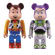 Toy Story 3 Buzz and Woody Bearbrick 2-Pack